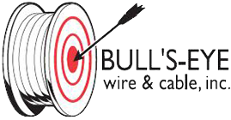 BULL'S- EYE wire & cable, inc., Logo